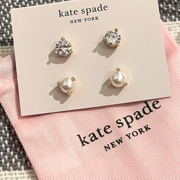 Kate Spade Rise & Shine Set Stud Earrings NWT